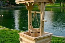 Surprising-wishing-well-planter