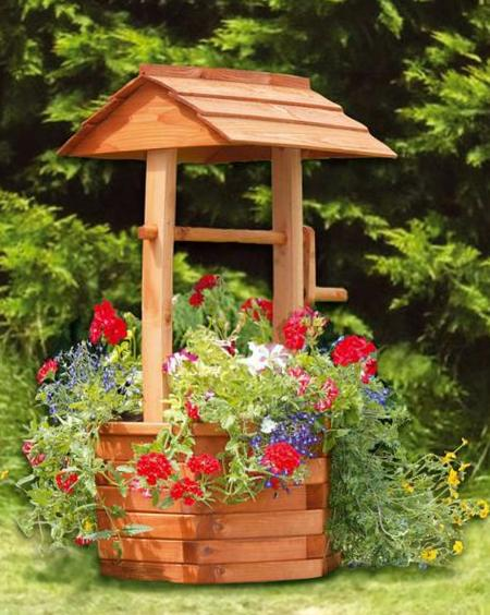 Wishing Well Planter 231548