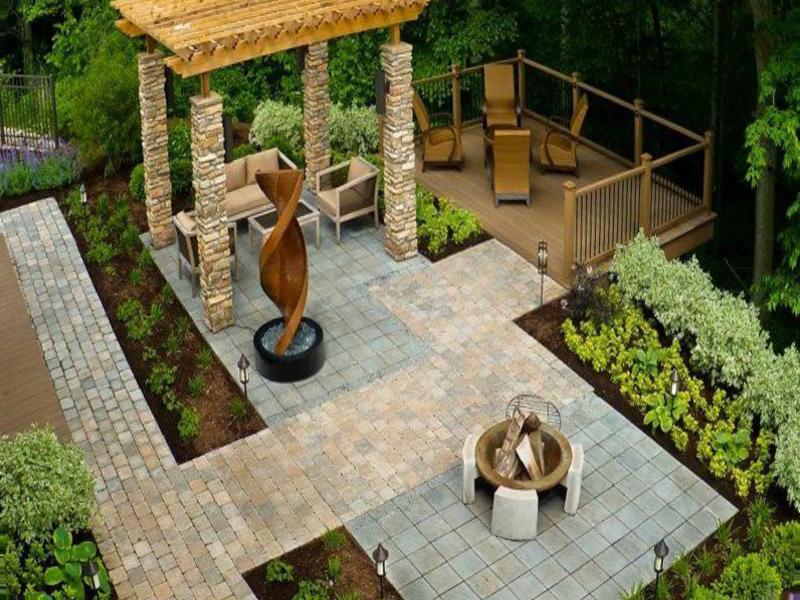 Enchanting-cheap-landscaping-ideas-for-backyard